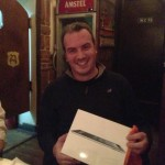 George Tesseris VTRIPer of the Year 2012 has just received his iPad gift...