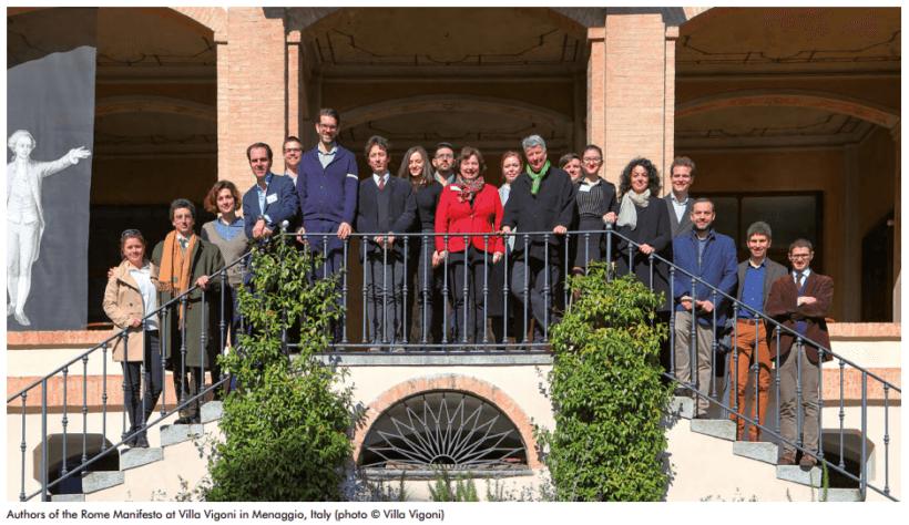 The Rome Manifesto authors
